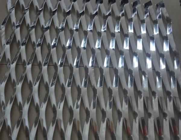 Wall Aluminum Expanded Metal Mesh
