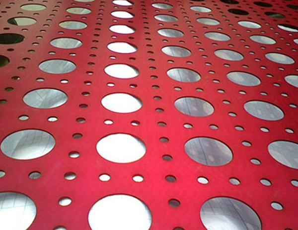 Anodized Aluminum Expanded Mesh