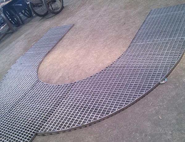 Shaped Steel Plate
