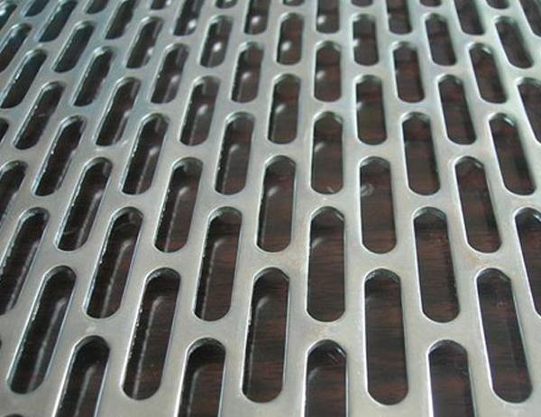 Rectangle Perforated Metal Mesh