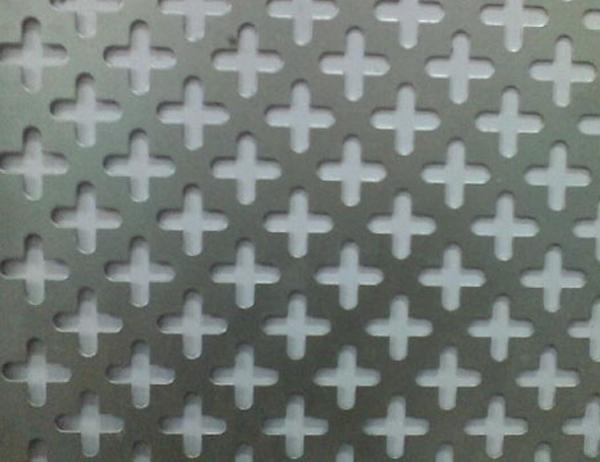 Cross Hole Perforated Metal Mesh