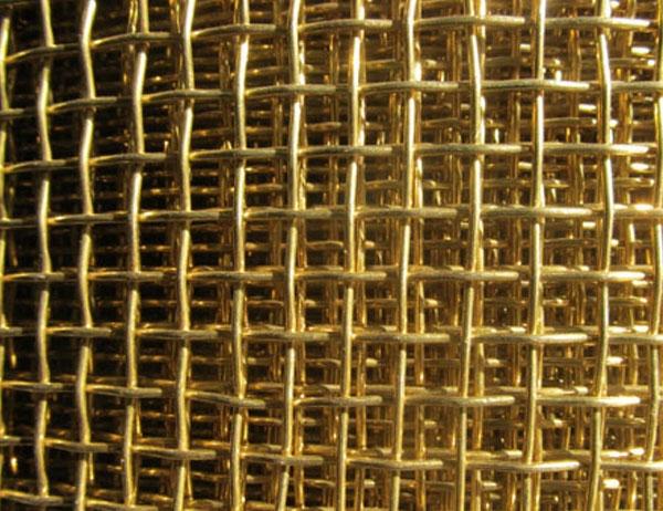Cooper Wire Crimped mesh