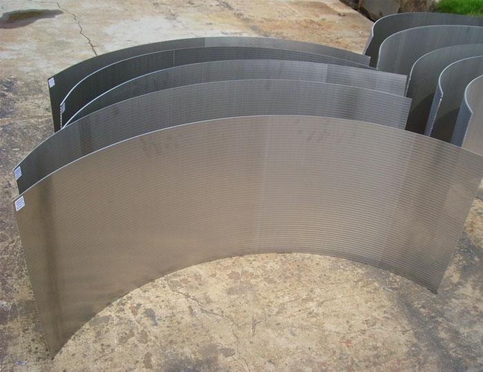 Baling Wire 120°Sieve Bend Screen